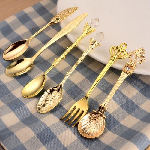 6pcs Vintage Kitchen Spoons Fork