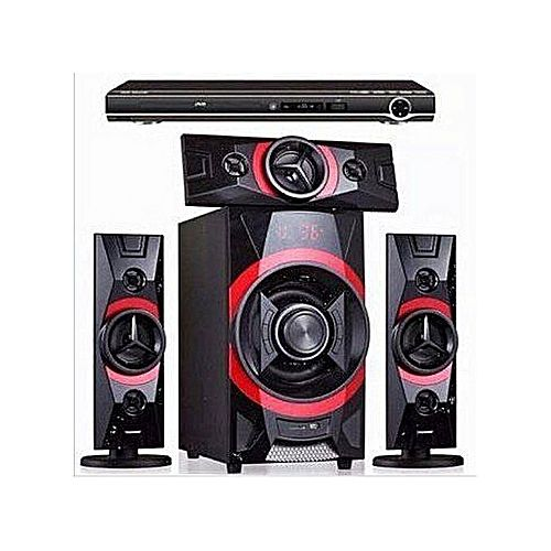 3.1CH Bluetooth Home Theatre System Xbass + DVD Player