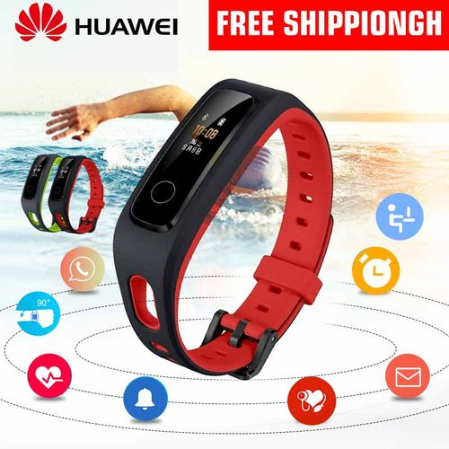 HUAWEI Honor Band 4 Smart Bracelet Running Wristband - Red