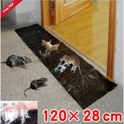 Big Strong Sticky Rat Bugs Catcher Pad Mice Cockroach Mouse Glue Traps Board Mat