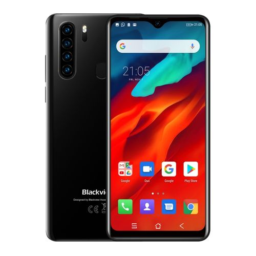A80 Pro, 4GB+64GB, 6.49 Inch Android 9.0 Pie, 4680mAh Battery, 4G Smartphone - Black