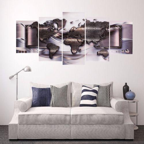 5pcs Art Landscape Painting Canvas Print Wall Art Picture Home Decor
