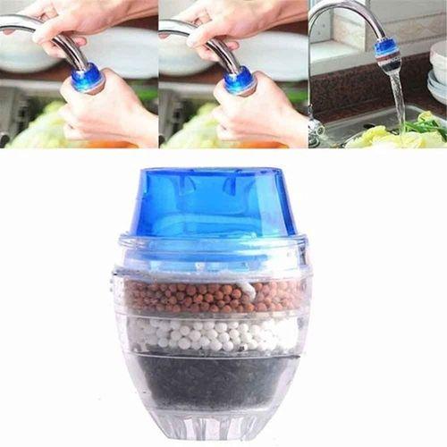Faucet Activated Carbon Water Filte Purifier For Faucet Tap - Blue