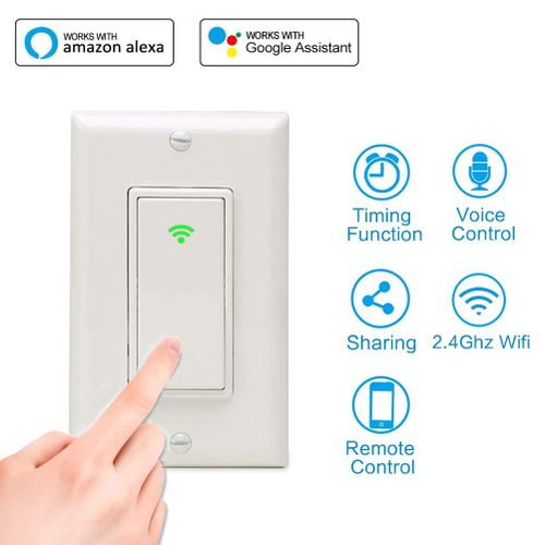 Multi-function Smart Switch Wireless Remote Control Switch