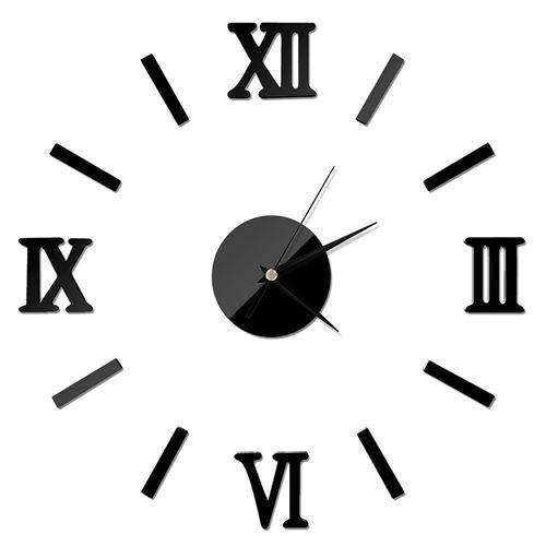 Wall Decor Clock Stickers 3D DIY Wall Clock
