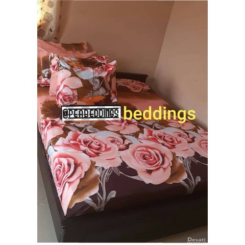 Pure Cotton BedSheets With Four Pillowcases