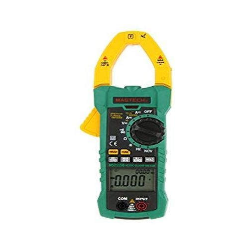 MS2115B True RMS Digital AC/DC Clamp Meter Multimeter Voltage Current Ohm Capacitance Frequency Tester W/USB Interface & NCV - MS2115B