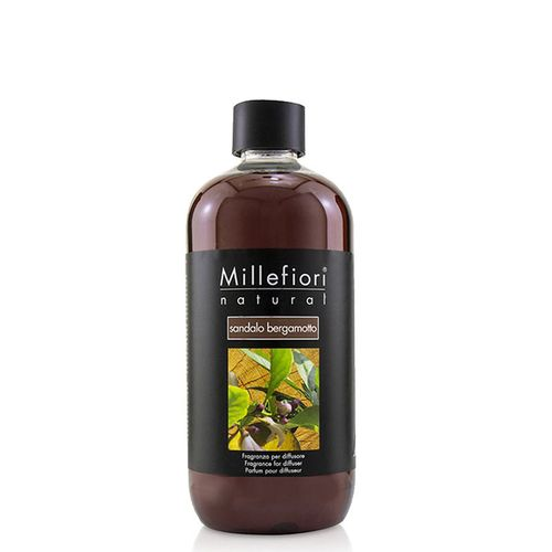 Millefiori Milano Vanilla And Wood Natural Refill For Diffuser 500ml