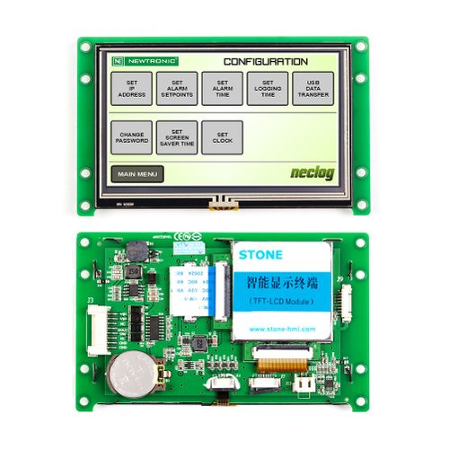 4.3 Inch Smart TFT LCD Panel With Programmable Touch Screen
