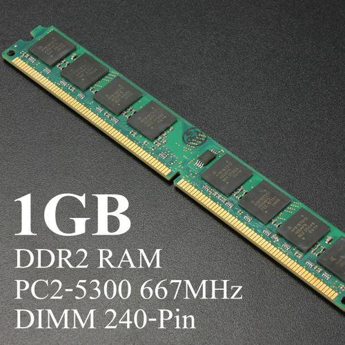 1GB DDR2 PC2-5300 667MHz Desktop PC DIMM Memory RAM SDRAM Non-ECC 240pin AMD