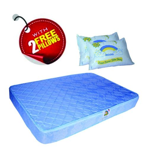 Mouka Orthopedic Mattress 6*4.5*8 And 10( Delivery Within Lagos State Alone)