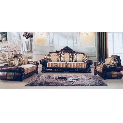 Elegant 7 Seater (FABRIC + LEATHER) Sofa. (FREE SHIPPING)