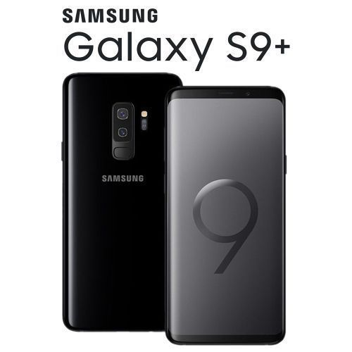 Galaxy S9 Plus Single Sim 6.2'' Inch QHD 6GB Ram+64GB Rom 12MP+8MP 4G Smartphone-Midnight Black