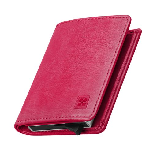 Ultra Slim Bifold Leather Wallet With RFID Protection