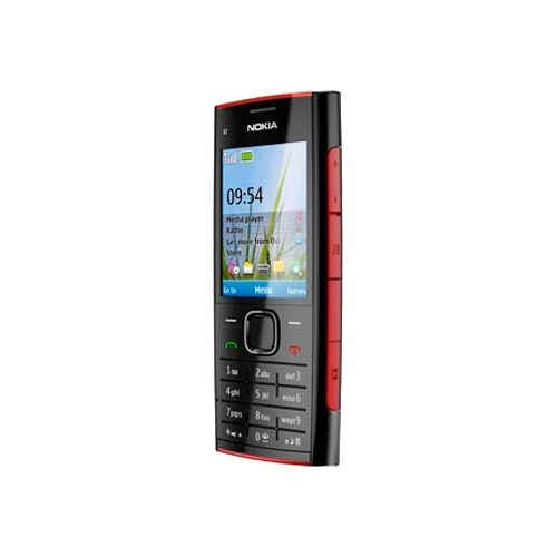 Nokia X2-00 Music Mobile Phone With Stereo Radio