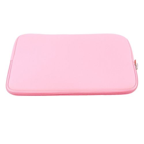 Laptop Sleeve Case Bag Pouch Store For Mac MacBook Air Pro 11.6 13.3 15.4inch Pink