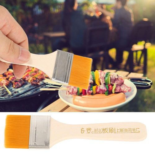 12Pcs Brush Set Kit For Household Kitchen Baking BBQ Barbecue Cleaning Oil Painting