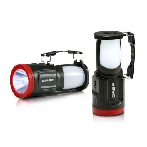 Qasa Solar Rechargeable Led Torch & Lantern (QLTN-81B)