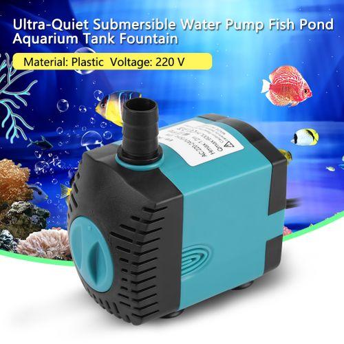 Ultra-Quiet Submersible Water Pump Aquarium Tank Fountain