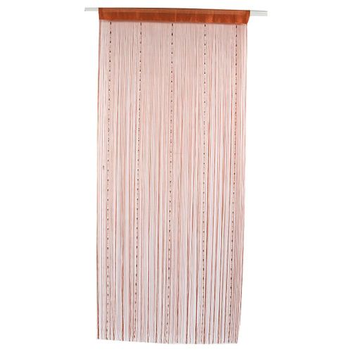Bead Curtain Polyester Door Window Curtain Drape For Bedroom Living Room Cafe Blackout Curtain Decoration