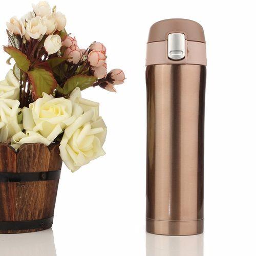 17oz Thermos Coffee Tea Travel Steel Vacuum Flask Water Bottle