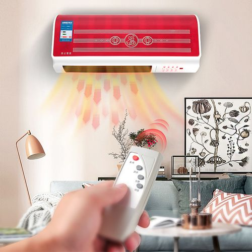 2000W Digital Timing Wall Mounted Heating Air Conditioning Heater Conditioner