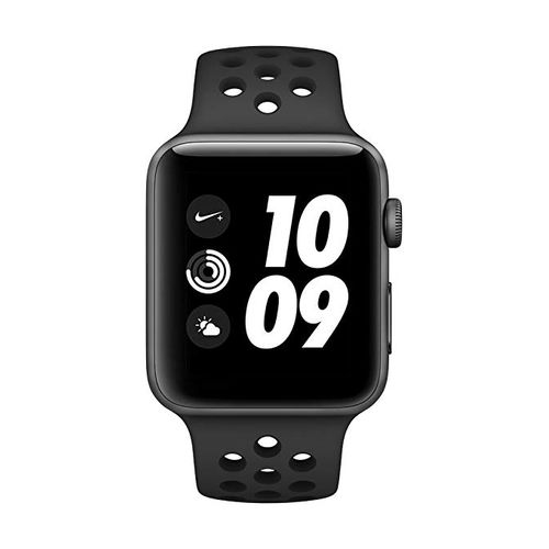 Watch Nike+ Series 4 (GPS) 44mm, Space Gray Aluminum, Anthracite/Black Nike Sport Band)
