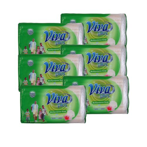 Multipurpose Soap With Freshness Of Petals (packs Of 6) - 250g
