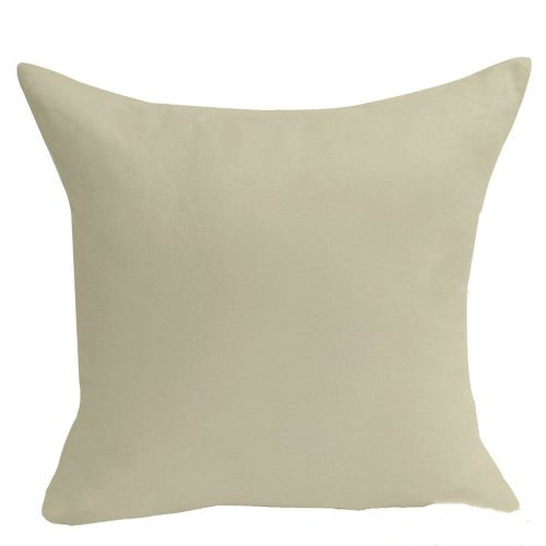 Mohap Set Of 2- Gray Pillowcases 65X65Cm Pillowcase With Microfibre Zipper Creamy-white