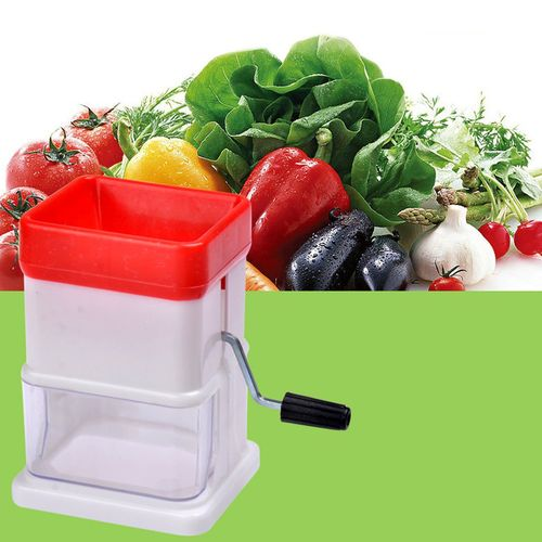 Manual Ice Shaver Crusher Cabbage Cone Maker Kitchen Vegetables Tools