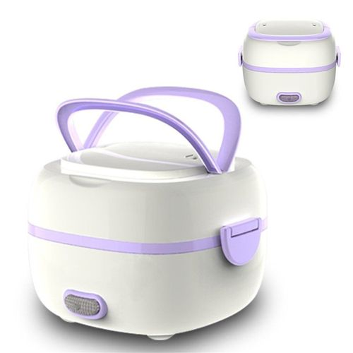 Electric Lunch Steamer Box Rice Food Cooker School Student Dormitory