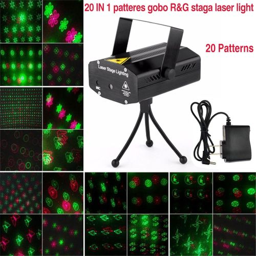 Mini LED Laser Projector Christmas Decorations For Home Laser Pointer Disco Light Stage Party Pattern Lighting Projector Shower WOEDB