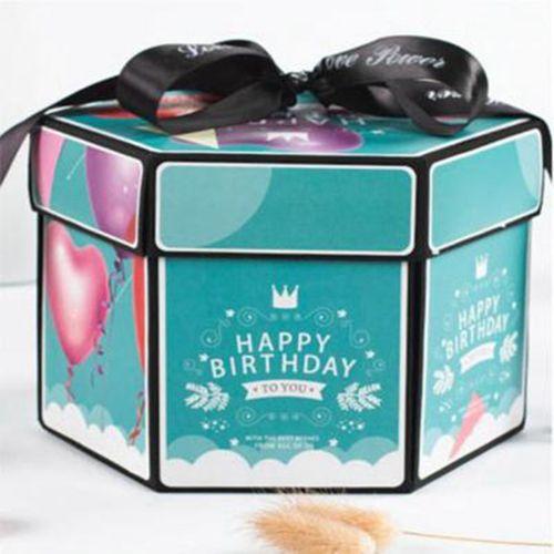 Surprise Love Explosion Box Anniversary Scrapbook DIY Photo Album Birthday Gift