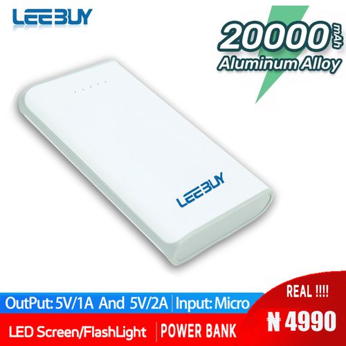 Power Bank 20000mAh Portable Charger For Mobile Phone Tablet