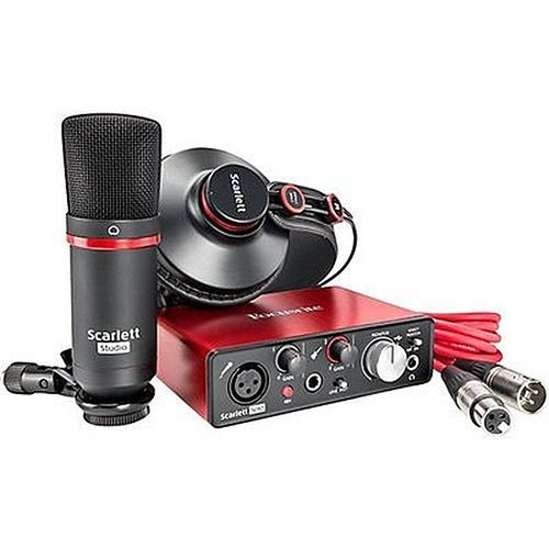 Scarlett Solo Studio Pack USB Sound Card Recording Interface