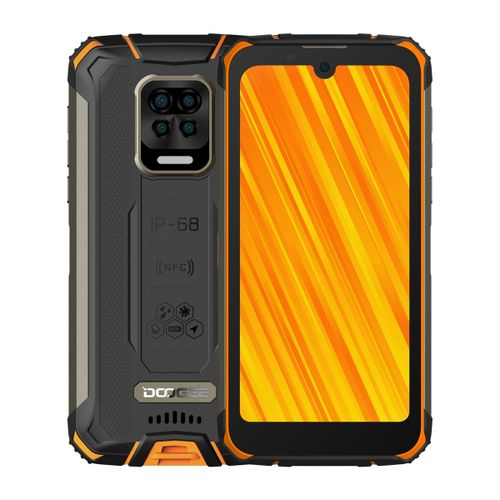 S59 Pro Rugged Phone 4GB+128GB10050mAh Battery 5.71 Inch Android 10 4G Smartphone - Orange