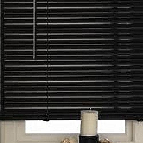 Aluminium Window Blinds Black