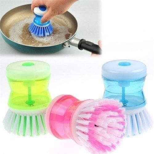 Dish Washing & Cleaning Up Brittle Brush - 3pcs