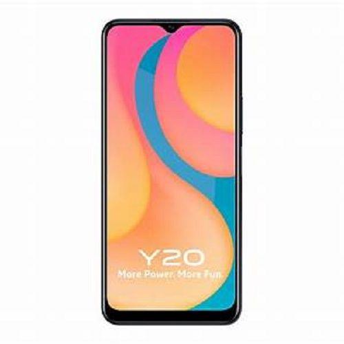 Y20, 6.51-Inch, 4GB RAM 64GB ROM Android 10 (13MP + 2MP + 2MP) + 8MP Dual SIM - Obsidian Black