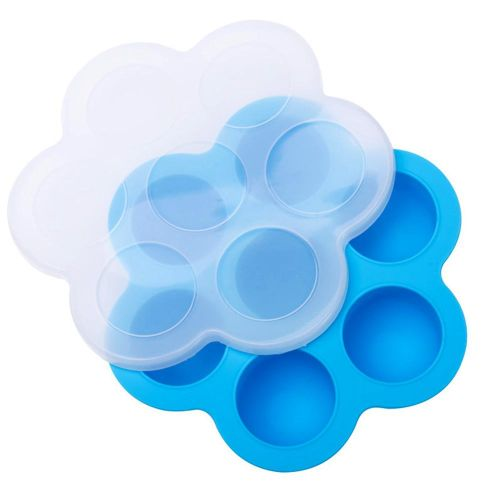 Silicone Ice Cube Trays With Lid, Ice Tray BPA Free Silicon