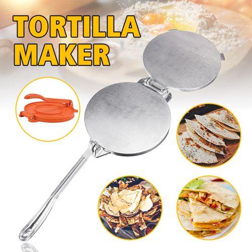 20cm Terra Fiesta Tortilla/Naan Bread Dough Press Heavy Duty