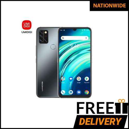 A9 Pro Infrared Temperature Sensor (48MP+16MP+5MP+5MP) +24MP 6.3-Inch (6GB,128GB ROM) Android 10 Smartphone-Onyx Black