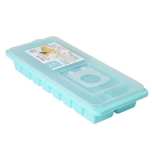 Watermalend Cavity Ice Cube Tray Box With Lid Cover Drink Jelly Freezer Mold Mould Maker BU