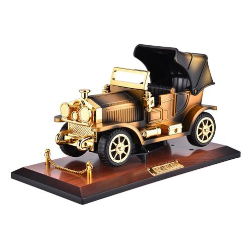 Retro Car Shape Model Music Box Mechanism Automotive Plastic Craft Decoration Gift For Your Friends Or Family Christmas