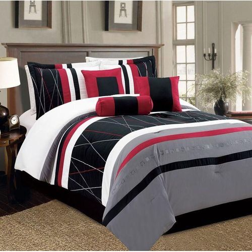 Classic Patterned Bedsheet With Pillow Cases