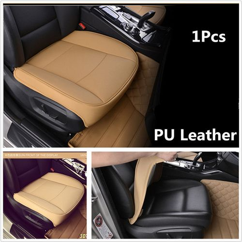 Luxury PU Leather Winter Warm Car Seat Cover Cushion Cotton Breathable Comfort Universal Car Seat Protector Mat Pad