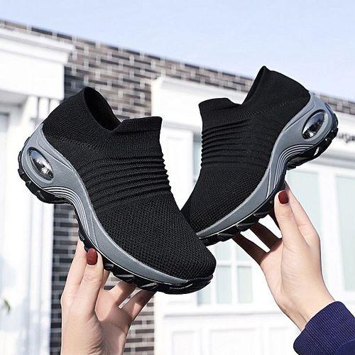 Trending Female Stockings Sneakers - Black