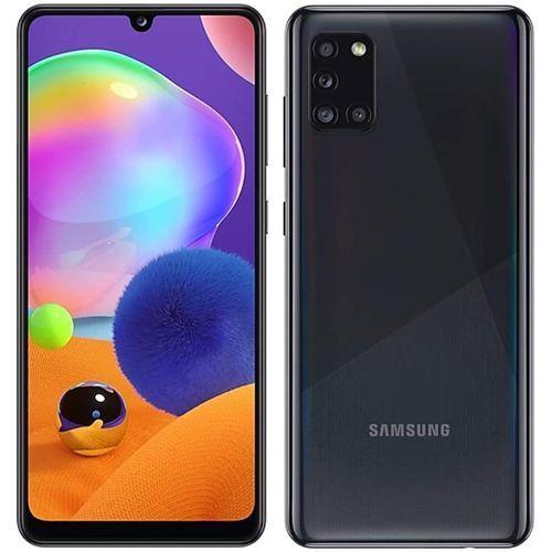 "Galaxy A31-(128GB+4) 6.4"" FHD + 4 Rear Camera (48+5+8+5)MP,+ 20MP, 5000mAh, Dual SIM 4G LTE , Prism Crush Black"