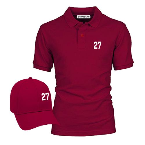 27 Polo & Cap Bundle - Wine, Wine