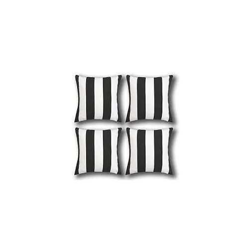 Stripe Throw Pillows-4 Pieces